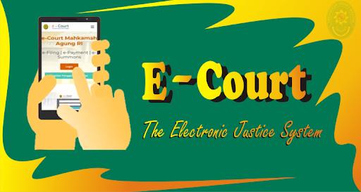 Aplikasi e - Court